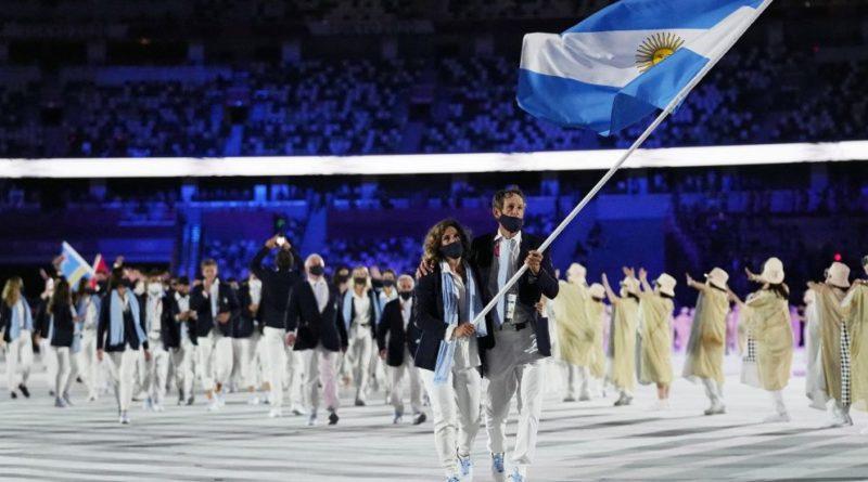 Juegos olimpicos-desfile